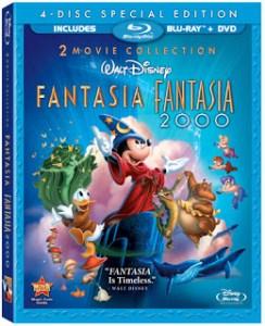 Fantasia / Fantasia 2000 (dvd review)