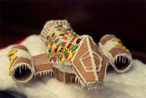 GINGERBREAD SERENITY SHIP MAKES Me Want to Re-Do the Holidays