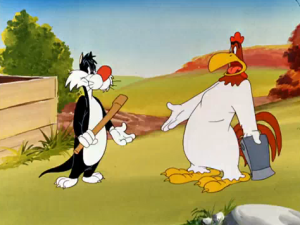 LOONEY TUNES SUPER STARS Welcome Foghorn Leghorn, Tweety and Sylvester to DVD!