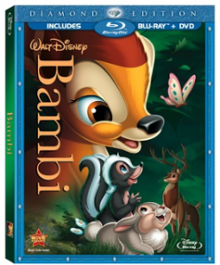 BAMBI Arrives On Blu-ray/DVD and Makes Me Cry Again (review)