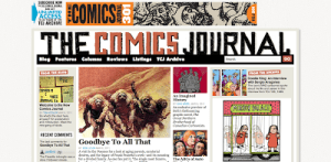The Comics Journal Shakes Things Up Online