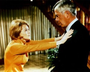 THE TRANQUIL SOUNDS OF ANGIE DICKINSON BEATING THE CRAP OUT OF LEE MARVIN