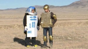 SIMON PEGG AND NICK FROST RE-MAKE STAR WARS…Kind of.