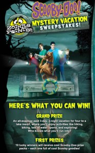 SCOOBY-DOO Mystery Vacation Sweepstakes is Announced!  Win Prize Pack From FOG!