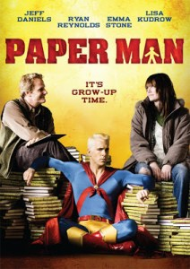CONTEST!  Win PAPER MAN on DVD!