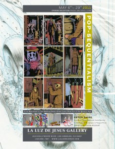 POP-SEQUENTIALISM:  Great Comic Book Art of the Modern Age Gets An Art Exhibition!
