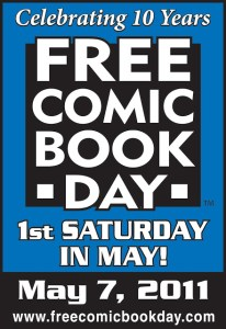 Countdown to FREE COMIC BOOK DAY – 3 Days left!