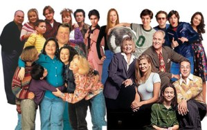 DVDGASM!  MILL CREEK To Release ROSEANNE, 3RD ROCK, GROUNDED FOR LIFE, THAT '70s SHOW!