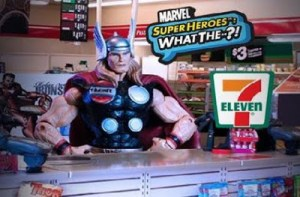 PRODUCT PLACEMENT HAS GONE TOO FAR: Especially Now That Thor Is Working In A 7-11