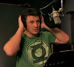 <i>CASTLE, FIREFLY</i> Star NATHAN FILLION Leads Voice Cast As HAL JORDAN in <i>GREEN LANTERN: EMERALD KNIGHTS</i>
