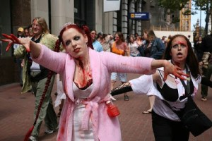 FED-EX PROMISES TO BE THERE For You Even During Zombie Attacks