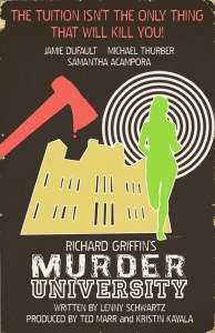 MURDER UNIVERSITY Is Taking Horror Back To School!