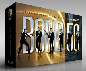 007 Celebrates His 50th With An Impressive Blu-Ray Release