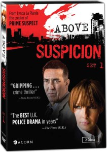 ABOVE SUSPICION (From The Creator Of PRIME SUSPECT) Arrives on DVD!