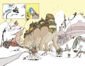 COMIC NEWS: <br>MULTIPLE WARHEADS Is Coming From Brandon Graham and Image Comics