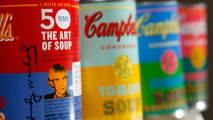 ANDY WARHOL-INSPIRED CAMPBELL SOUP CANS Are Going To Be Available For Purchase At Target…College Freshman Excited to Show Off Their Art Knowledge.