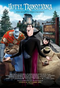 Reviews of Films I Have Never Seen: <br>HOTEL TRANSYLVANIA – <i>Sony Partners with Hotel Chain for 3-D Spook Fest</i>