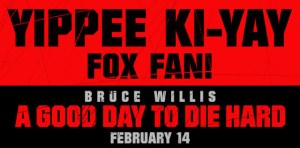 Win a Pair of Passes To See A GOOD DAY TO DIE HARD!