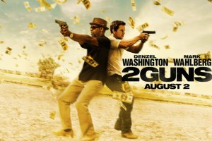 Denzel and Marky Mark Whip Out Their Weapons For 2 GUNS Trailer!