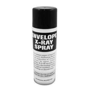 BEST NEW PRODUCT FOR DELINQUENTS: Envelope X-Ray Spray