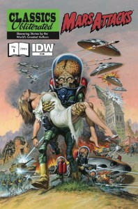 MARS ATTACKS! Classic Literature!