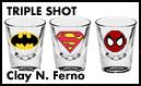 TRIPLE SHOT: <br>TEN GRAND #1, SUPERIOR SPIDER-MAN #1 and IRON MAN 258.1