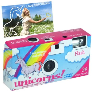 New Disposable Camera Will Insert UNICORNS Into All Your Pictures…Wait, They Still Make Disposable Cameras?