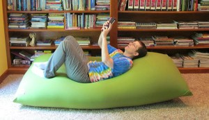 The Yogibo, A Bean Bag Chair Specifically Created For Your Lazy Ass