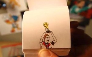BEST GOALS FROM THE WORLD CUP Via A Flip Book