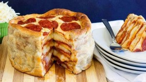 Holy SH*T There's A Pizza Cake