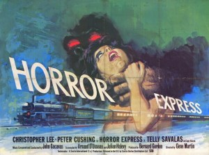 LET'S GO TO THE MOVIES: Horror Express…Experience The Nightmare of Rail Travel, And I'm Not Talking About Lost Luggage
