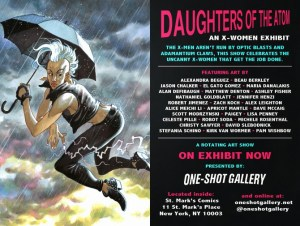 Daughters Of the Atom: An X-Women Exhibit At One-Shot Gallery NYC