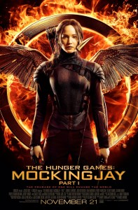 THE HUNGER GAMES: MOCKINGJAY – PART 1 (review)