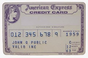 THROWBACK THURSDAY: American Express in the 60s…A Card That Would Get You Out Of Completely Implausible Situations
