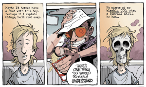 Top Shelf Announces Hunter S. Thompson's FEAR AND LOATHING IN LAS VEGAS Graphic Novel  Adapted By Troy Little