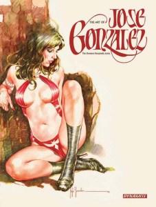 Dynamite Announces THE ART OF JOSE GONZALEZ , The Premier VAMPIRELLA Artist