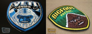 Contest!  THE SASQUATCH BRIGADE is HERE! Win Bigfoot/Yeti/Sasquatch Embroidered Patches!
