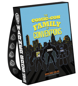Warner Bros. & Comic-Con Unveil Official Bags for SDCC 2015