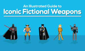 INFOGRAPHIC – Which Is The Most Badass Fictional Weapon Of All Time?