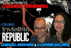 FOG! Chats With INVISIBLE REPUBLIC Power Couple GABRIEL HARDMAN & CORINNA BECHKO