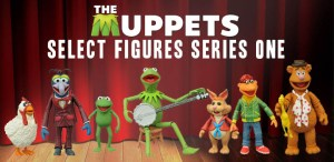 Win The Complete Series 1 MUPPETS Action Figures From Diamond Select Toys!