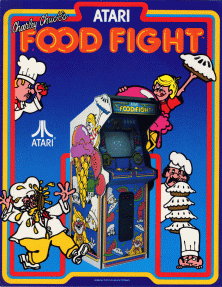 FoodFightAtari
