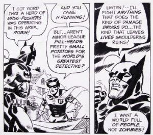 Read An Unpublished BATMAN Anti-Drug Story From 1970 By Denny O'Neil and Frank Robbins!