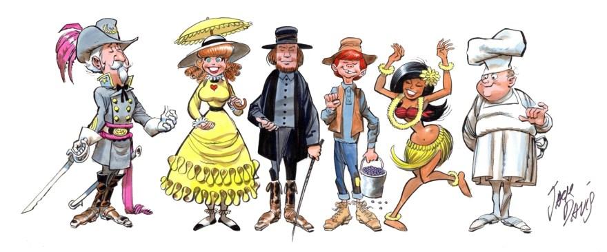 Davis characters