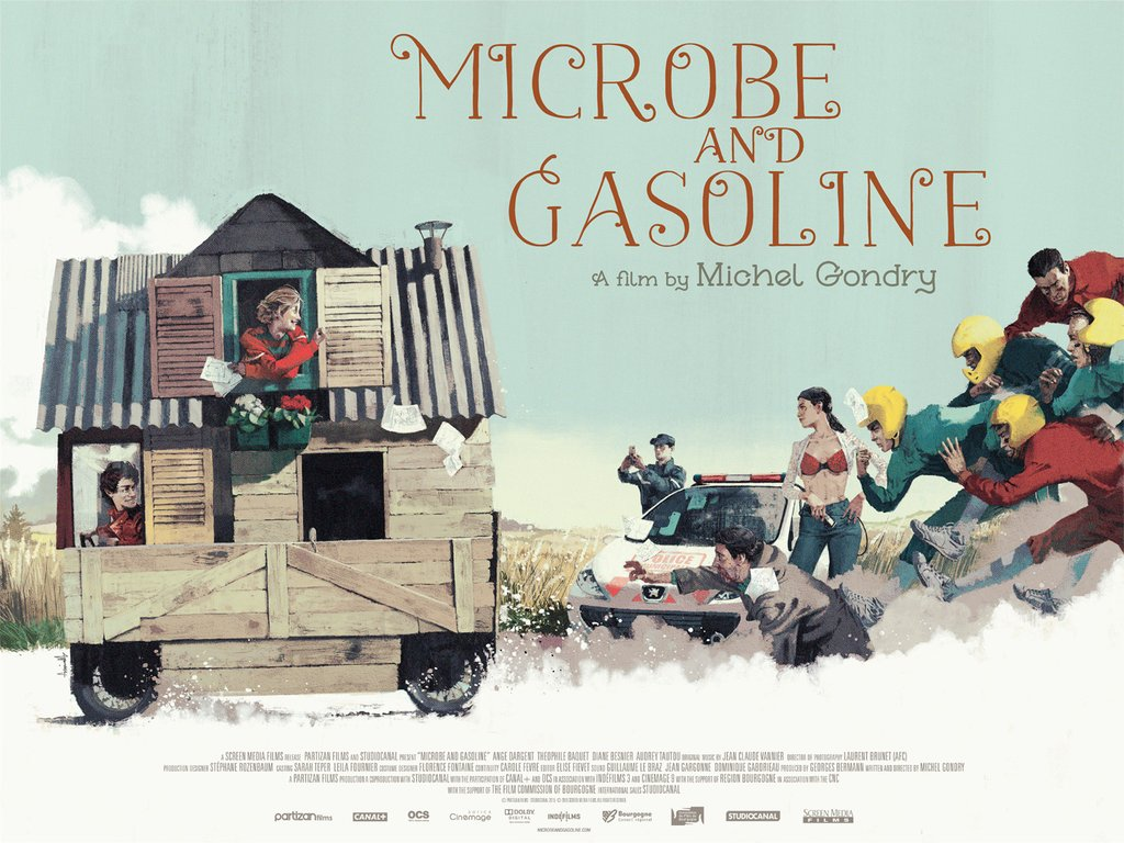 Microbe and Gasoline-Poster