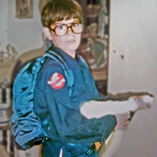 In 1984 Todd Sokolove was a Ghostbuster for Halloween...