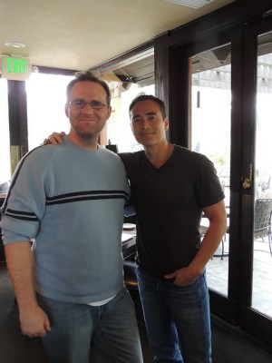 david with Mark Dacascos