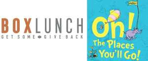 "BoxLunch Partners with Dr. Seuss to Launch an Exclusive ""Oh, The Places You'll Go!"" Collection & $20,000 Grant Contest in Celebration of Graduation Season"