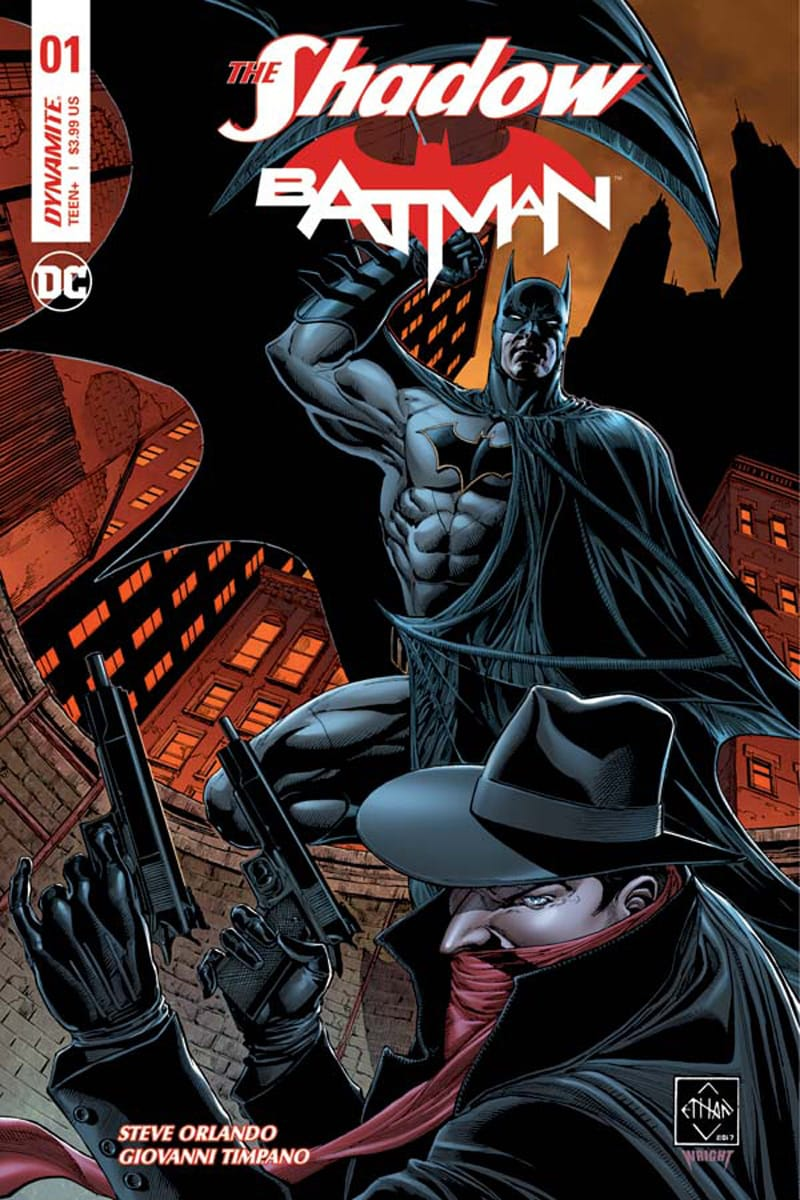 The Shadow and Batman Team-Up Again, Courtesy of Dynamite
