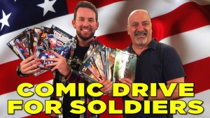 Support The JAWIIN Comic Drive for Soldiers